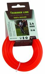 Garden Flaks nit za trimer 2,4mm x 15m