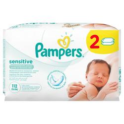 Pampers Sensitive dječje vlažne maramice  - 112