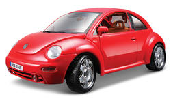 Burago Gold VW New Beetle (1998)