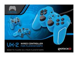 Controller GIOTECK Wired VX-2 plavi PS3