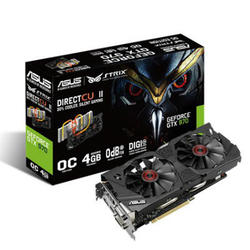 Grafička kartica PCI-E GeForce GTX 970 Strix OC 4GB DDR5 DVI DVI HDMI DP