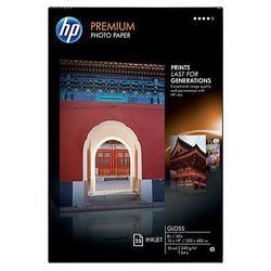 HP Premium Gloss Photo Paper-25 sht/A3+/330 x 483m