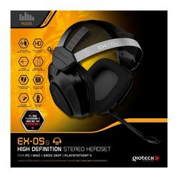 Headset GIOTECK Universal Wired HD Stereo EX-05S