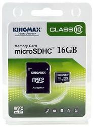 Kingmax Micro SDHC SD Class10 Memory Card  - 16  GB