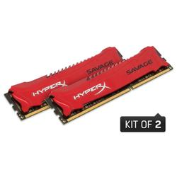 Kingston DDR3 HyperX Savage,2400MHz,16GB(2x8G),C11