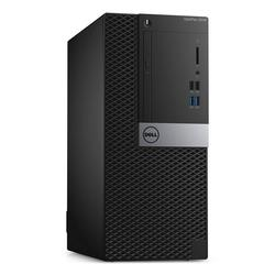 Optiplex 5040MT, N017O5040MT01_WIN-09, i5-6500 Processor 3,2 GHz, 8 GB, 500 GB, Intel HD Graphics 530, Windows 7, Crna
