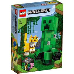 LEGO Minecraft Bigfig Creeper™ i Ocelot