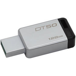 USB 128GB USB 3.0 DataTraveler 50 (Metal/Black)