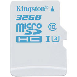 microSDHC 32GB UHS-I U3 Action Card Single Pack Adapter