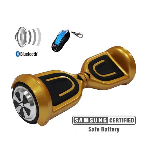 Hoverboard Code gold 6""