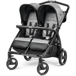 Peg Perego Book For Two kolica za blizance - Cinder  - Siva