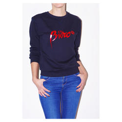 Girls sweatshirt logo s crvenom folijom
