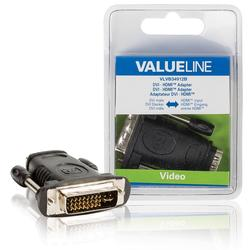 Valueline Adapter HDMI Ž - DVI-I 24+5p M VLVB34912B blister