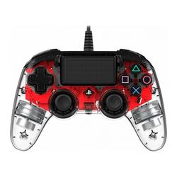 NACON PS4 OFFICIAL LIGHT CONTROLLER RED