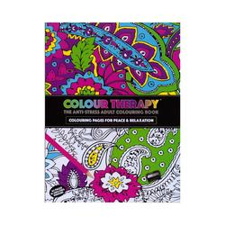 Colour therapy - The anti-stress adult coloring book
