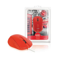 Sweex Mouse USB London, Red