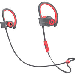 Beats Powerbeats 2 Wireless In-Ear Headphones, Active Collection - Siren Red
