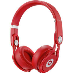 Apple Beats Mixr On-Ear Headphones - Red