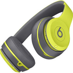 Beats Solo2 Wireless On-Ear Headphones, Active Collection - Shock Yellow