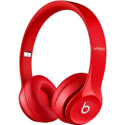 Beats Solo2 Wireless On-Ear Headphones - Red