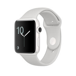 Apple Watch Edition, 38mm White Ceramic Case with Cloud Sport Band  - Bijela