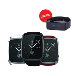 Meanit Smart Watch M1 + meanIT 24 Fit narukvica  - Bijela