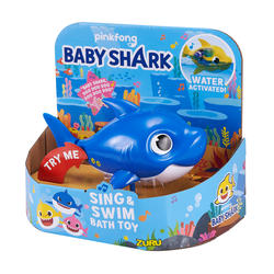 Zuru Robo Alive junior Robotic baby shark -plavi