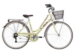 "Cinzia Bicikl 28"" CTB VILLAGE LADY 6B V-BRAKE MATT CREAM"
