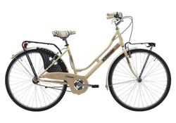 "Cinzia Bicikl 26"" FRIENDLY LADY Single speed V-Brake Cream"