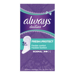 Always Dailies Fresh & Protect Normal  - 60 kom