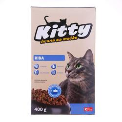 K Plus Hrana za mačke s ribom Kitty  - 400 g