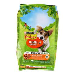 Purina Hrana za male pse s piletinom i povrćem Friskies Mini Menu  - 1500 g