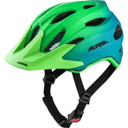 Alpina kaciga Carapax Jr. Flash Green-Blue 51-56