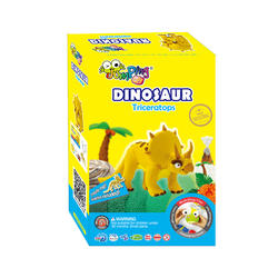 Jumping Clay set triceratops