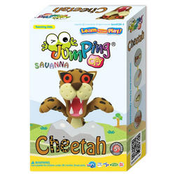 Jumping Clay set gepard