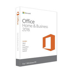 Microsoft MS Office Home and Business 2016 Cro Medialess