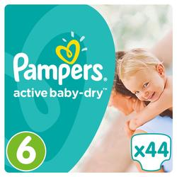 Pampers Active Baby Dry Pelene 6 Extra Large  - 44