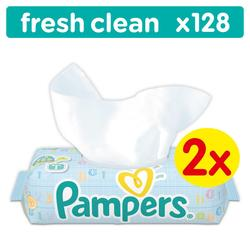 Pampers Fresh Clean dječje vlažne maramice  - 128
