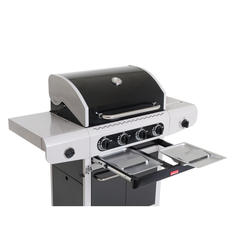 Barbecook Siesta 412 black edition plinski roštilj s 4 plamenika
