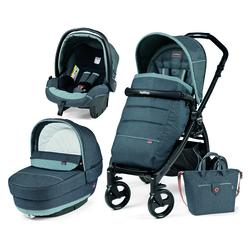 Peg Perego 3u1 Book Plus Completo - Pop Up sjedalo -Matt Black konstukcija