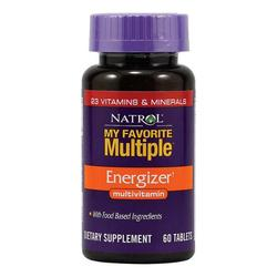 Natrol My Favorite Multiple Energizer, 60 tableta