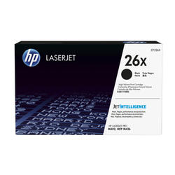HP 26X High Yield Black Original LJ Toner CF226X