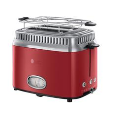 Toaster Retro red 21680-56