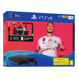 Sony PlayStation 4 1TB F chassis + FIFA 20 + FUT 20 VCH + PS Plus 14 Days