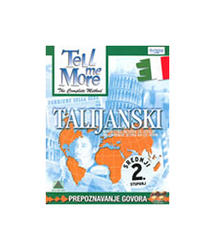 TELL ME MORE - TALIJANSKI SREDNJI (2. STUPANJ) CD