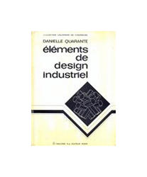 Elements De Design Industriel, Danielle Quarante