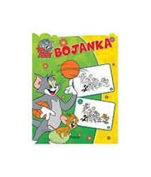 TOM I JERRY BOJANKA (zelena),