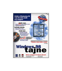 Windows 98 - Tajne + 4 Cd-A, Brian Livingston,Davis Straub