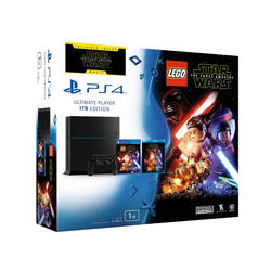 PlayStation 4 1TB C chassis Black + LEGO Star Wars: The Force Awakens