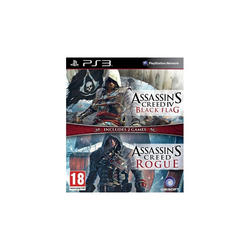 Komplet Ubisoft Assassin's Creed IV: Black Flag & Assassin's Creed Rogue PS3